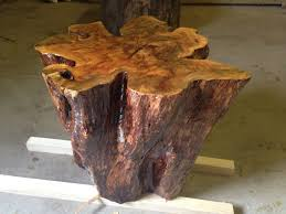 tree stump furniture. Image Of: Tree Stump Table Furniture