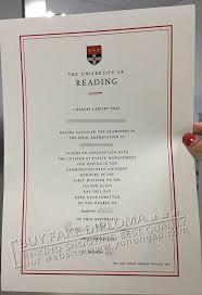 Replica Degree Certificates Uk University Of Reading Fake Diploma Image Buy Fake Uk Degrees