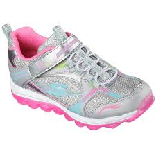 skechers running shoes for girls. skechers girls\u0026rsquo; skech air - bubble beatz shoes silver skechers running for girls p