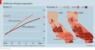 Hispanic Population Growth Chart Approved The Economist