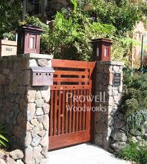custom wood gate design 68 in oakland ca