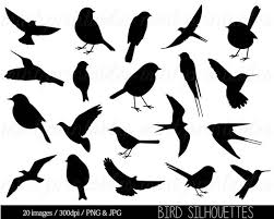 cute bird silhouette.  Silhouette Image 0 To Cute Bird Silhouette Y