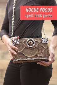 diy hocus pocus spell book purse