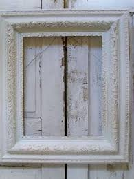 large painted white antique frame shabby by anitasperodesign 8000 picture frames e70 white