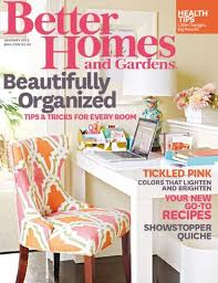 better home and gardens magazine. Contemporary Better January 2015 Better Homes And Gardens Magazine Cover Intended Home And U