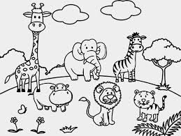 pioneering zoo animal coloring sheets animals page children in 624412