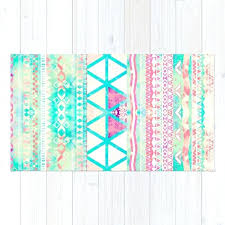 watercolor rug pink teal pattern triangles girly watercolor rug safavieh monaco abstract watercolor rug watercolor trellis