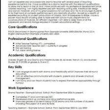 Drama Teacher Resumes Drama Teacher Cv Sample 97226588358 Format For Teacher Resume