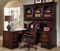 l shaped office desk with hutch