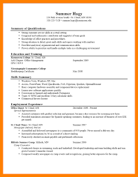 8 Example Of A Great Resume Self Introduce