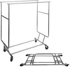 double garment rack shoe rack