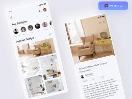 interior design app free xd templates