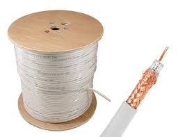 bulk rg6 coaxial cable 60% braid dual shielding 1000 ft spool bulk rg6 coaxial cable 60% braid dual shielding 1000 ft spool white sewelldirect com