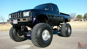 Toyota Pickup SR5 4x4 Short Bed Monster Lifted Custom Monster No ...
