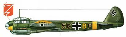 luftwaffe artwork junkers ju a kg k bp russia  kg3 5k bp russia 1941 42 0a