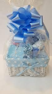 baby boy little prince blue gift basket her