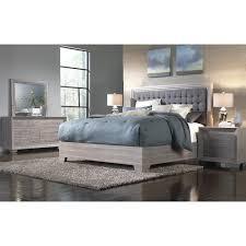 IdeaItalia Arketipo 5pc Queen Bedroom Set Birch Value City