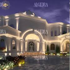 Design House Exterior Mesmerizing Luxury Exterior Designs Company In Dubai ALGEDRA Interior Design