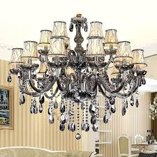 chandeliers grey crystal chandelier luxury lamps lights modern smoky grey crystal chandelier lights modern crystal