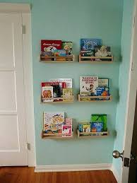 wall mounted bookshelves ikea unique ways to books under your stairs including