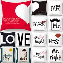 Счастливый День святого Валентина Декор Mr Mrs <b>свадебное</b> ...