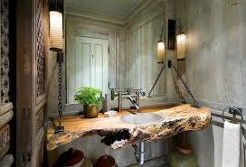 Cabin Bathroom Cabin Shower Curtains For The Bathroom