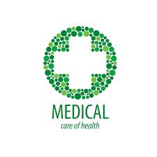 medical logos design green medical health logos design vector 08 free download