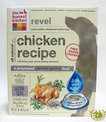 Honest Kitchen Freeze Dried Revel Dog Food Chicken - Honest kitchen dog food