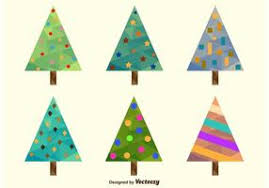 Polygonal Christmas Tree Free Vector Art 14216 Free Downloads