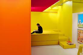 Luxury Orange Color Wall Festooning   Wall Art Design .