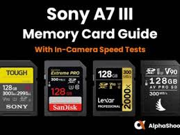 Currently, memory card capacities stretch across a broad range, from 2gb to 512gb, and the technology allows for 2tb of maximum storage. Best Sony A7iii Memory Cards Tested Alphashooters Com