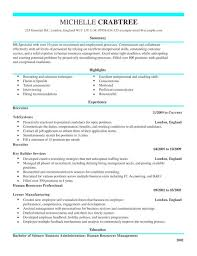 Recruiter Resume Template Cool Recruiter CV Template CV Samples Examples