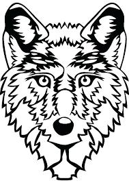 Animal Jam Arctic Wolf Outline Animal Jam Coloring Of Animal Jam