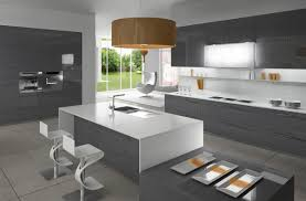 Gray Kitchen Contemporary Kitchen Best Minimalist Kitchens With Perfect