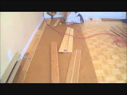 installing hardwood floors over existing hardwood floors diy mryoucandoityourself you