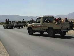 """مأرب برس- مطارح قبائل """"الجدعان"""" تعزز جبهات جنوب وغرب مأرب بـ35 طقماً  عسكرياً محملة بالمقاتلين"""