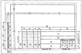 Курсовая работа Строительные чертежи понятие и общий порядок их  Рисунок 2 Основная надпись и дополнительные графы форма 1
