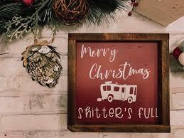 Merry Christmas Rv Sign Christmas Letter Merry Christmas Sign Farmhouse Christmas Rustic Christmas Christmas Decor