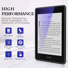 Kindle Blue Light Filter Dadanism Screen Protector Fit Kindle Paperwhite 10th Generation Eye Protect 4h Hardness Anti Scratch Film 2 Pack Pet Anti Blue Light Protective