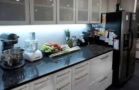 full reel led flexible light strip 31m 101ft installed as kitchen under cabinet led lighting