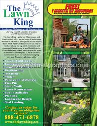 Sample Flyers For Landscaping Business Landscape Flyer Magdalene Project Org