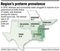 March Of Dimes Birth Plan Group Gives Arkansas An F As Preterm Birthrates Rise