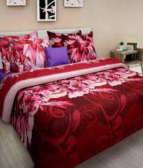homefab india luxury 3d printed double bed sheet