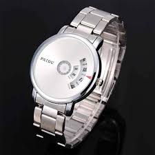 which is the best wristwatch under 3000 inr quora fashion new paidu design unisex turntable dial wrist watch steel white