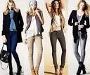 С чем носить облегающие брюки