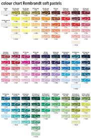 Rembrandt Pastel Color Chart Art Supplies Soft Pastel Red 205 Corpomedic Com Mx