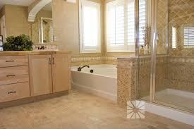 ... Modern Bathroom: corner shower tub combo ...