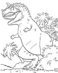 Small Picture Monstrous Dinosaurus T Rex Coloring Page Color Luna