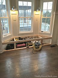 building a bay window seat