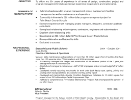 Project Managers Resume Mechanics Resume